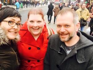 Cousins at Camden Market